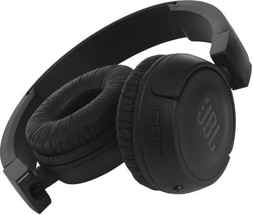 907db2f2dd1 JBL T450BT Extra Bass Wireless On-Ear Headphones with Mic (Black) at ...