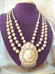 Threaded Golden Necklace