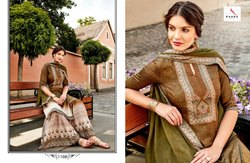 Party Wear Designer Jam Satin Palazzo Style Straight Suit
