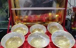 Rawsome Shack German Silver Brass Bowl Set