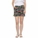 Fancy Printed Ladies Shorts