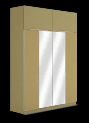 Cubit Homes Rectangle Wardrobe Comfort Series With Mirror