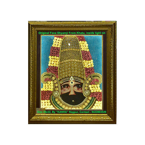 c1398ffff8a Khatu Shyam Ji Photo Frame at Rs 11000  piece
