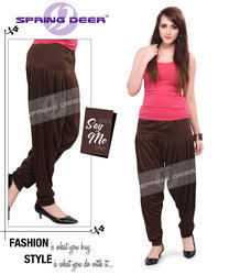 Chocolate Brown Patiala Pant