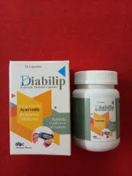 Diabilip Cap. (Ayurvedic Medicine For Diabetic )