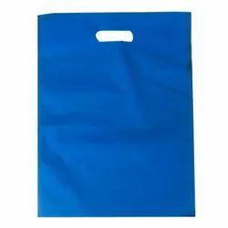 Blue Plain Non Woven Carry Bag