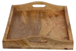 Wood Tray, Brown (RRT60)