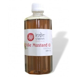 Indic Wisdom Cold Pressed Mustard Oil, Packaging: 100 mL