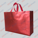 Red Metallized Non Woven Bags