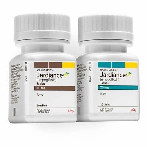 Empagliflozin Tablets 10 Mg 25 Mg जार्डीएन्स 10 और 25 Mg