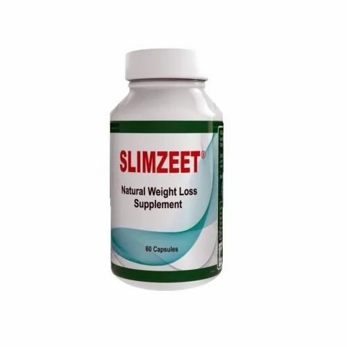 SLIMZEET Natural Weight Loss Supplement Capsules, Packaging Type: Plastic Bottle