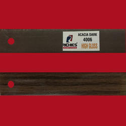 Acacia Dark High Gloss Edge Band Tape