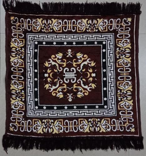 Multicolor Bagma Pooja Asan Mat-2
