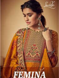 Printed Pashmina Ladies Salwar Kameez By Levisha
