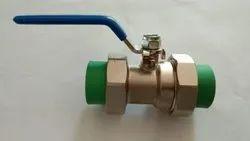 PPR Union Type Brass Ball Valve