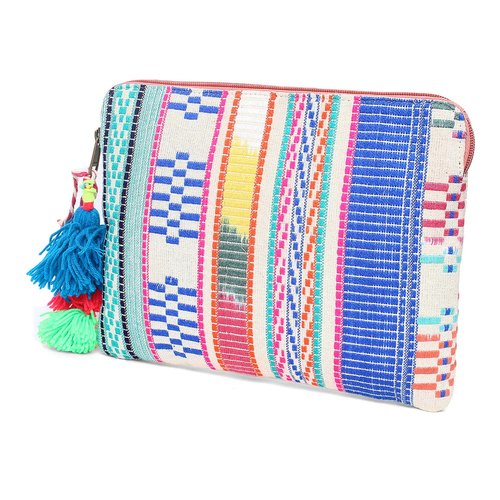 Jacquard Printed Zipper Tablet Case