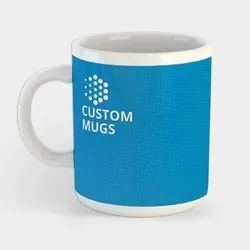 Wraparound Printed Custom Mugs Custom Mugs, Size: 10.5 X 3.75 Inches