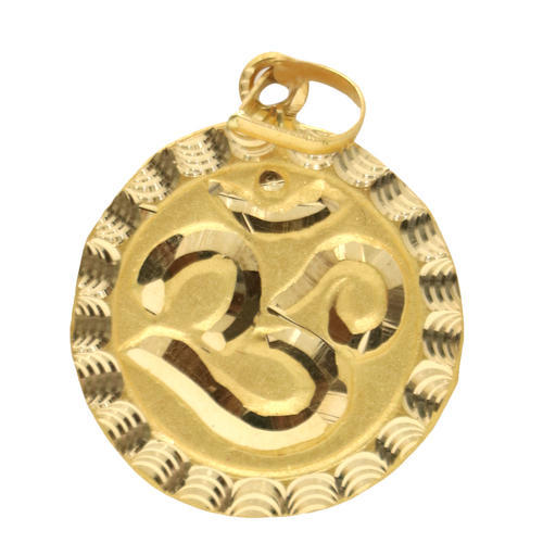 Gold om pendant view specifications details of gold pendant by gold om pendant aloadofball Gallery