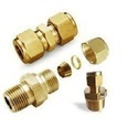 Brass Ferrule Tube Fittings