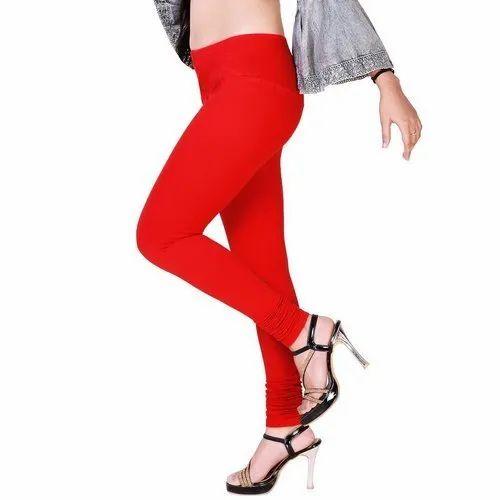 Plain Ladies Churidar Leggings