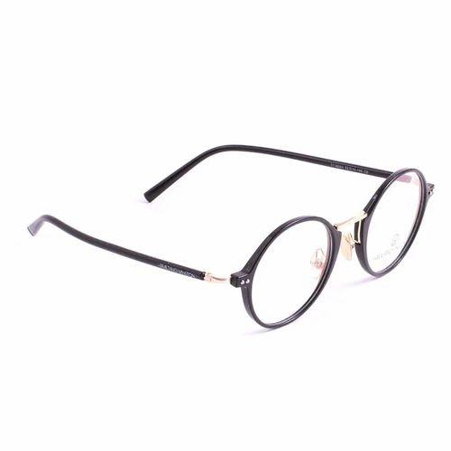 4fed7538e4 Hamiltano Winston Black Round Spectacle Unisex Eye Frame