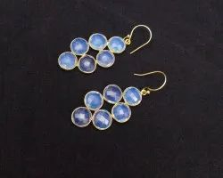 Opelite Gemstone Earring Set