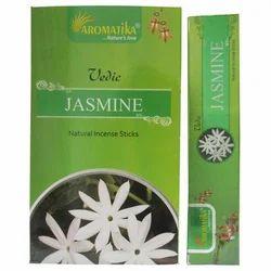 Aromatika Vedic Jasmine Incense Sticks-15 Gram Pack