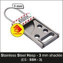 Stainless Steel Lockout Tagout Hasp