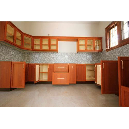 Modern U Shaped Kitchen Cabinet Rs 1400 Square Feet In House
