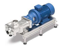 Hygienic twin screw pumps