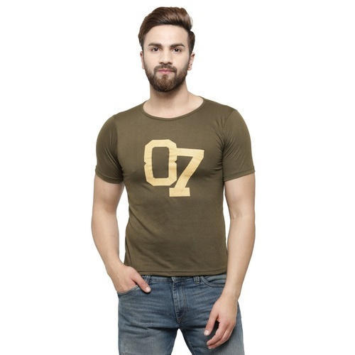 40e9b766 Men Printed Slim Fit T Shirt, Size: S-XXL, Rs 120 /piece | ID ...