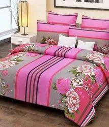 Pink Designer Bedsheet