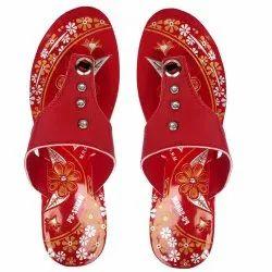 Women Daily wear PU Slipper, Size: 6x9