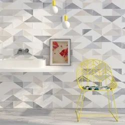 White Gloss Digital Wall Tile, Thickness: 0-5 mm, Size: 60 * 60 (cm)