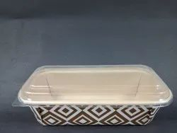 bakery cake container with lids