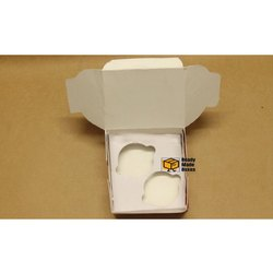 2 Cavity White Cupcake Box