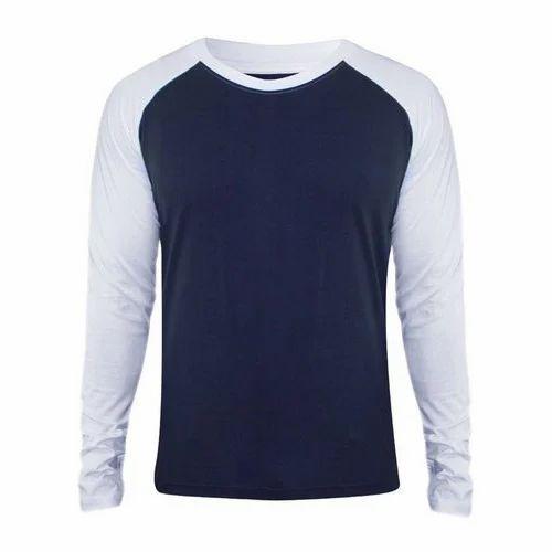 d74a38276e2e Men Cotton Stylish Full Sleeves T-Shirt, Rs 150 /piece, Arihant ...