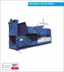 Manual Tie Horizontal Baling Press