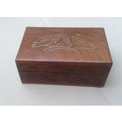 Wooden Rectangle Handcrafted Jewelry Box