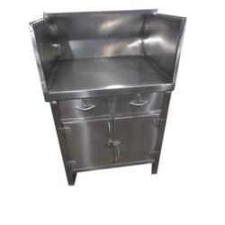 Stainless Steel Tea Service Counter