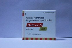 Natural Micronized Progesterone Injection