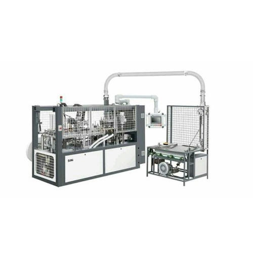 Disposable Paper Cup Making Machine, Automation Grade: Semi-Automatic, Cup Size: 100-200 ml