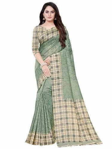 Art Silk Saree Fsp 303 Festive Wear With Blouse Piece