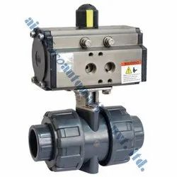 Pneumatic UPVC Ball Valve