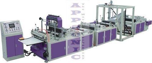D Cut Automatic Non Woven Bag Making Machine