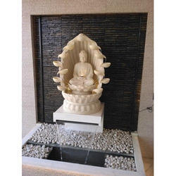 Resin Buddha Water Fountain