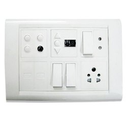 Plastic Electrical Switch Board, Ip55, 2