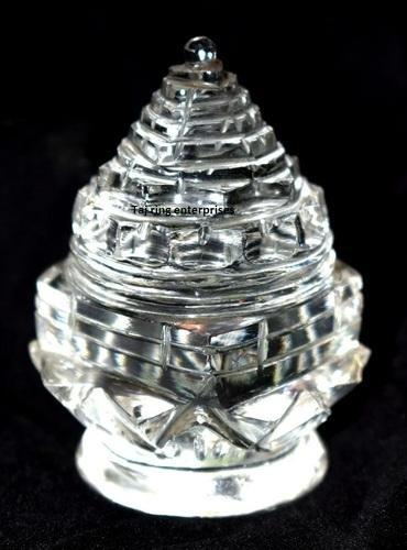 Meru Shree Yantra - Crystal Shree Yantra / Crystal Sumeru