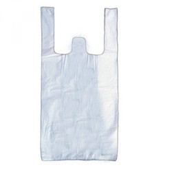 White Plastic Grocery Carry Bag