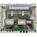 Solar Array Junction Box 6 in 1 out  DC SPD DC MCB